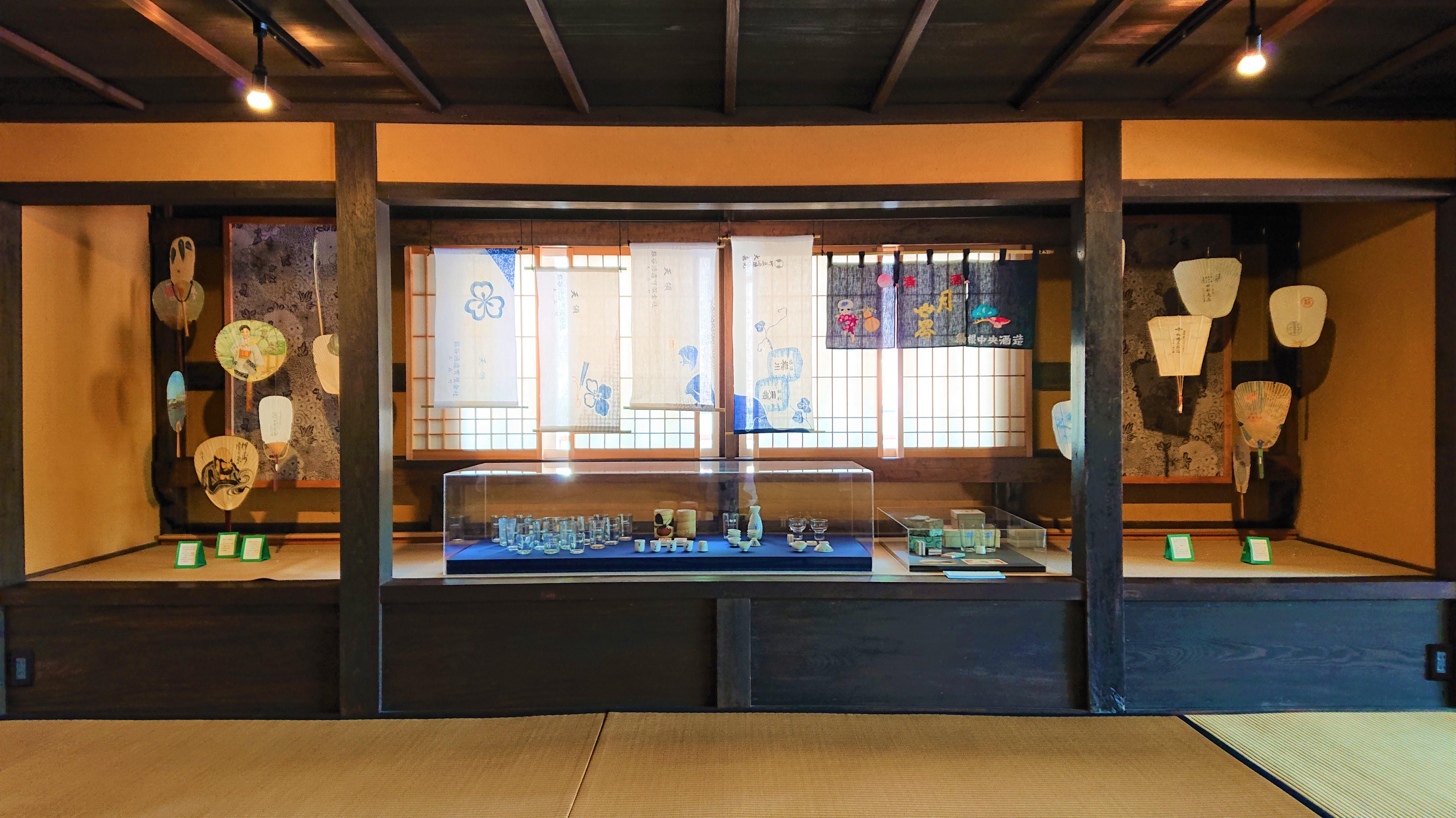 スポット展示「熊谷家に伝わる販促グッズ」at熊谷家住宅